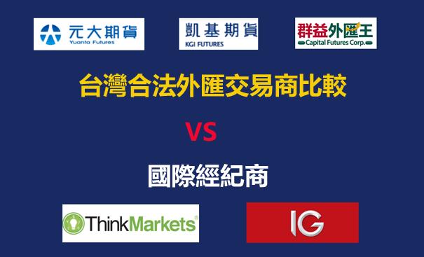 台灣合法外匯平台VS海外外匯平台之比較